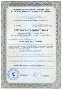 """Сертификат """"Исследование письменной речи"""" 2013 - 2015 гг."""