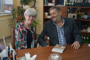 Выдающаяся американская писательница и журналист Энн Гаррелс в гостях у СТЭЛС. Апрель, 2017г.