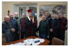 Перед заседанием ученого совета института