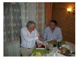 Ведущий эксперт антитеррористического комитета Великобритании Колин Рейнер на деловой встрече с Власовым А.Ю.