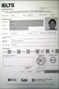 Сертификат IELTS Academic